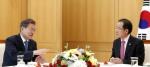 홍준표, 문 대통령에 김기…