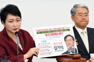 """이언주 """"김정은, 여당 선대본부장""""... 논란 일자 삭제"""
