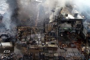 인천 공장 화재 재산피해 규모 23억원