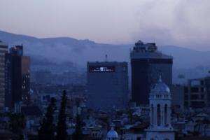 """미국 트럼프 시리아 공습, 말만 요란?…시리아 """"피해 미미"""""""