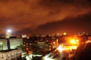 """시리아군 """"서방 미사일 110발 날아왔지만 대부분 차단"""""""