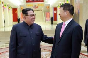 김정은, 中예술단 방북 이끈 쑹타오 대외부장 환대