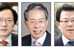 농협금융 차기 회장 김용환, 윤용로, 김광수 3파전