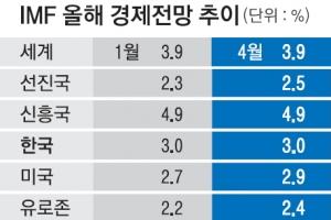 """""""올해 한국경제 3% 성장"""""""