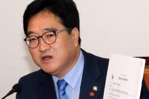 """우원식 """"한국당 뜬금없는 '텐트쇼'…막가파식 무책임 정치"""""""