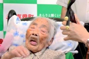 자손 160명…세계최고령 일본 할머니 117세로 사망