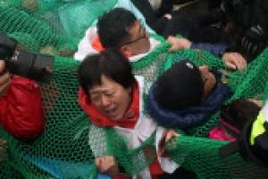 성주주민 강제해산 충돌