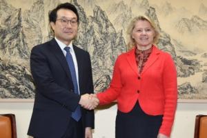 한미, 이틀째 외교 고위급 협의…공동의 북핵 해법 조율