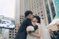 서울마당 한복판에서 결혼식 열린 사연