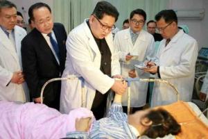 교통사고 中관광객 직접 위로…김정은, 中에 수습 공조 제스처
