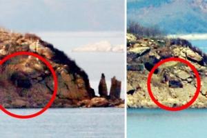 [포토] 한반도 화해무드…문 닫힌 북한 포진지
