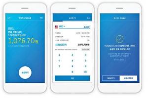 현대카드,  해외송금 서비스