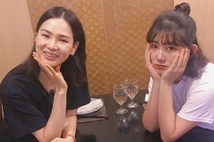 故 최진실 딸 최준희, 이소라와 훈훈한 셀카…오랜만에 전한 근황