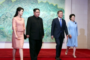 '표준시 통일'은 만찬장 가기 전 나온 김정은의 '깜짝' 제안