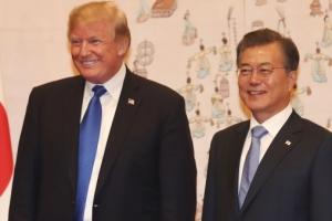 문 대통령-트럼프, 22일 정상회담…북미회담 중점 논의