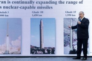 트럼프 보란 듯… 네타냐후, 이란 핵무기 자료 생중계 공개