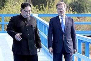 [씨줄날줄] '도보다리 친교' 시즌/박건승 논설위원