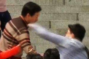 '김성태 폭행범' 구속기소…상해·폭행·건조물침입 적용