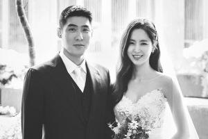한채아♥차세찌, 웨딩사진 공개 '아름다운 부부'