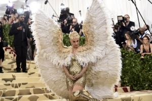 [포토] 케이티 페리 '뉴욕에 나타난 천사'