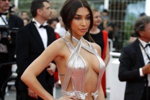 [포토] '칸영화제' 샨텔 제프리스, '볼륨 몸매' 돋보인 파격 드레스