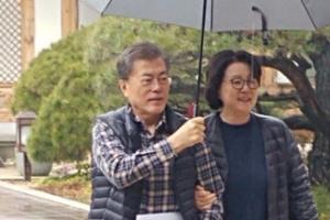 [포토]'청와대 안주인' 김정숙 여사의 1년