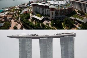[포토] 싱가포르 북미정상회담장은 과연 어디?