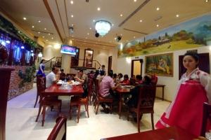 [포토] 두바이 북한식당 옥류관 인기