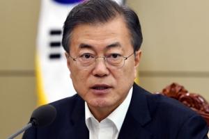 문대통령 국정지지도 76%…지난주보다 2%p 하락[갤럽]