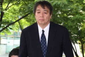 [서울포토] 외교부 초치된 굳은 표정의 日 총괄공사