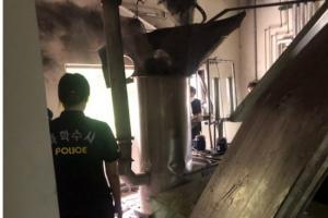 대전 한전원자력연료서 집진설비 증설작업 중 폭발…6명 다쳐