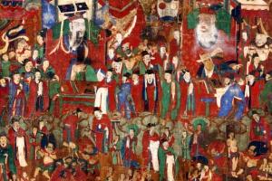 美 경매 나온 18세기 불화 '봉은사 시왕도' 귀환