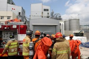 울산 한화케미칼서 염소가스 누출…피해 커져 19명 부상