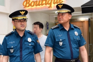경찰청장, '강남역 여성살인' 사건현장 찾았다가 '머쓱'