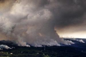 하와이 킬라우에아 화산 분출…9천m 가스기둥 치솟아