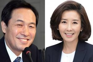 """우상호 '능청화법'으로 나경원 방어…""""선거 때 '좋아요' 안 누른 사람 어딨나"""""""