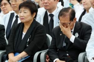 [포토] '하늘도 아버지도 울었다' 제38주년 5.18 민주화운동 기념식