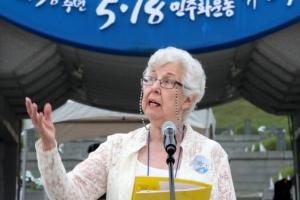 """5·18 세계에 알린 헌틀리 부인 """"광주와 한국을 사랑했다"""""""