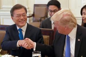 한미정상, 22일 단독회담도…北비핵화·밝은미래 보장논의