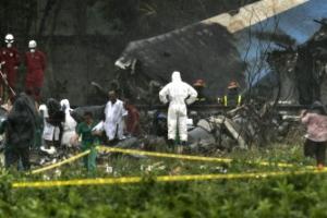 """""""100명 이상 사망"""" 아바나 공항서 이륙 직후 추락한 쿠바 항공기"""