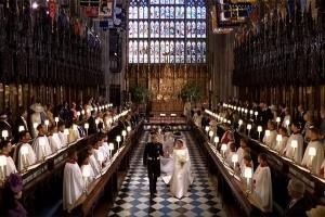 [영상] 해리 왕자와 메건 마클의 결혼식, 어땠나