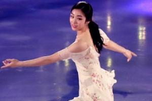 [포토] '여왕의 귀환'… 김연아, 다시 은반 위에