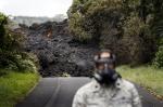 '하와이 화산폭발' 방독…