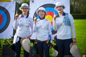 한국 신궁 삼총사, 세계신기록