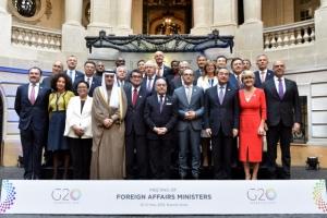 G20 외교장관회의 참석한 조현 차관 '北 비핵화' 지지 요청