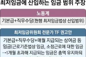 """경영계 """"상여·수당 포함"""" vs 노동계 """"최저임금 인상 무력화"""""""