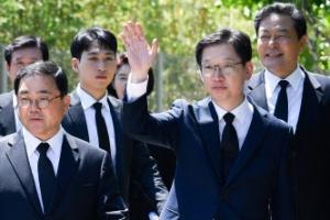 """김경수 """"대장님 잘 계시죠""""…노무현 전 대통령 추모글"""