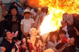 [포토] '불타오르네~' 도깨비의 불장난