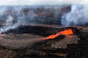 하와이 화산, 또 화산재 내뿜어… 3353m까지 치솟아