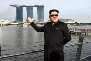 [포토] 북미 정상회담 앞둔 北 김정은, 벌써 싱가포르에?